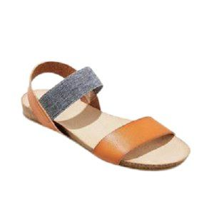 Universal Thread Cognac Patty Sandals 10